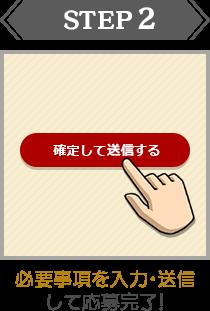STEP:2|必要事項を入力・送信して応募完了!